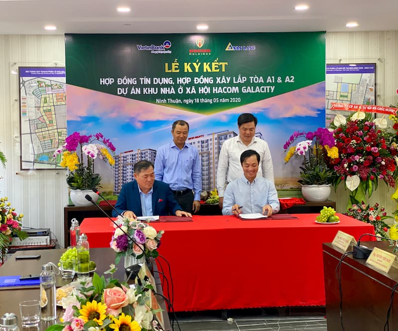 Nhà ở xã hội Hacom Galacity Ninh Thuận