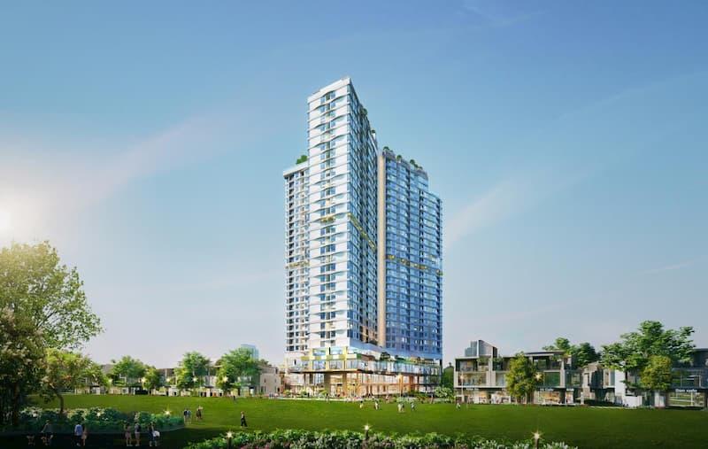 Phối cảnh dự án căn hộ cao cấp D-Homme