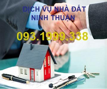 Dịch vụ nhà đất Ninh Thuận 0931999338