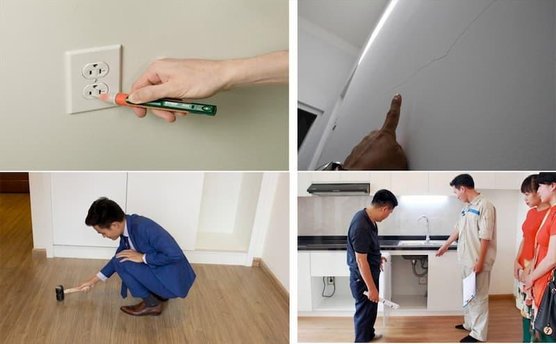 6 hạng mục cần kiểm tra kỹ khi nhận căn hộ