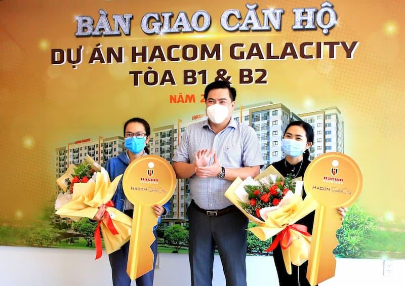 Bàn giao căn hộ dự án Hacom Galacity